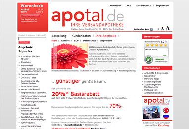 Apotal de online apotheke